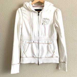 American Eagle zip up jacket with hoodie